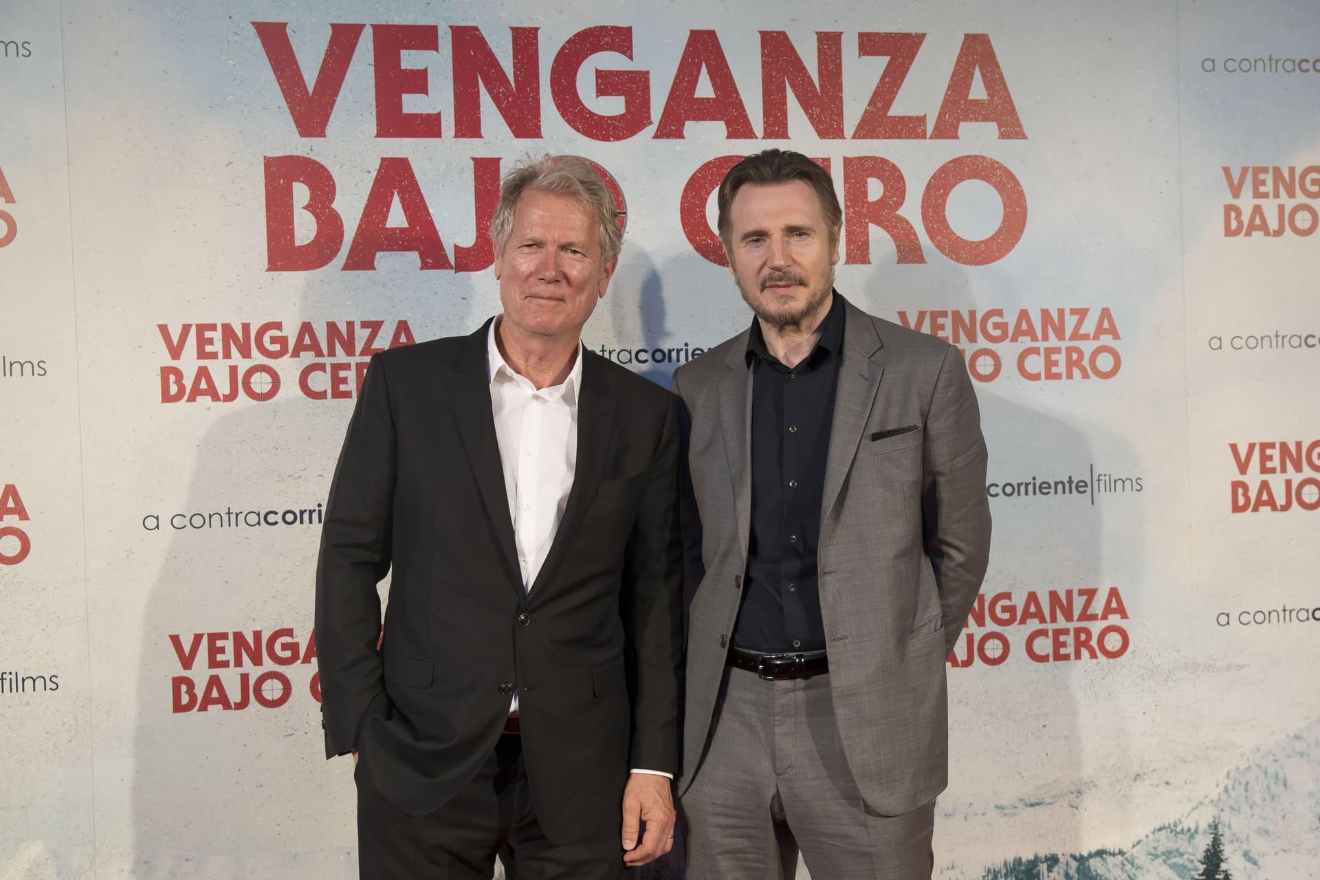 El Director Hans Petter Moland y Liam Neeson (Entrevista Venganza Bajo Cero)