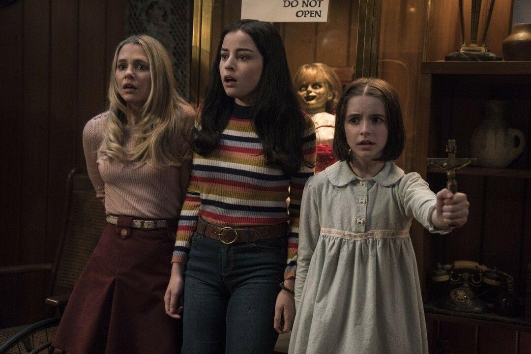 Las tres protagonistas femeninas de la cinta que intentarán parar a Annabelle.