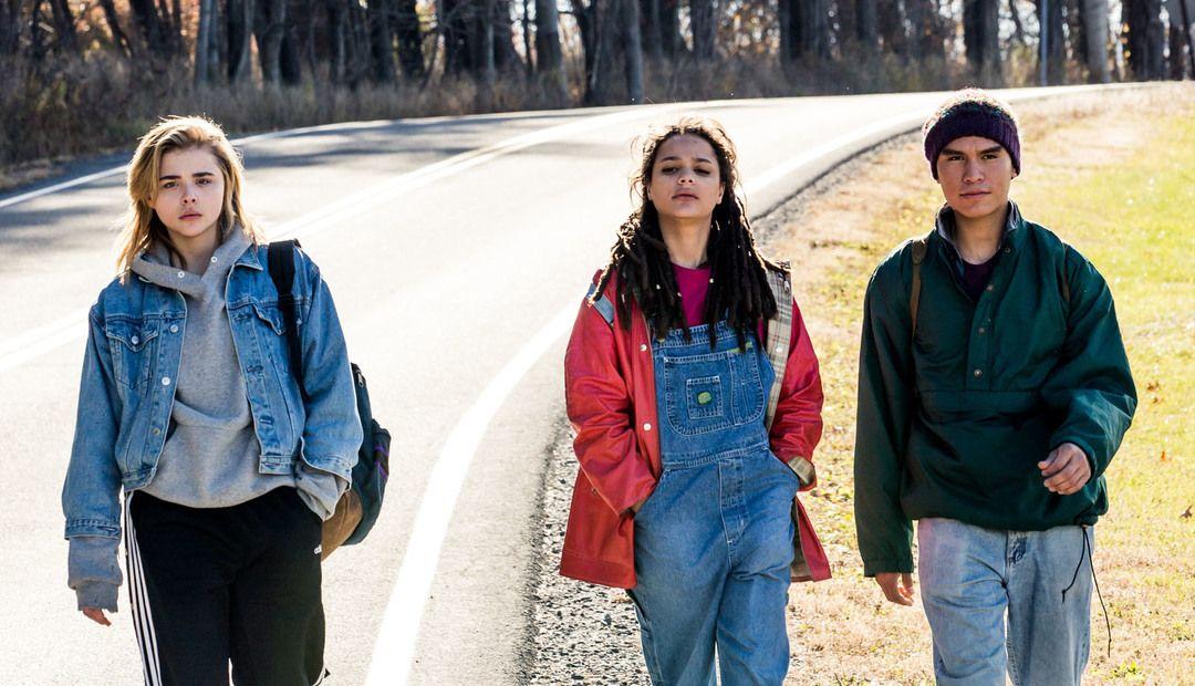 Chloë Grace Moretz, Forrest Goodluck y Sasha Lane