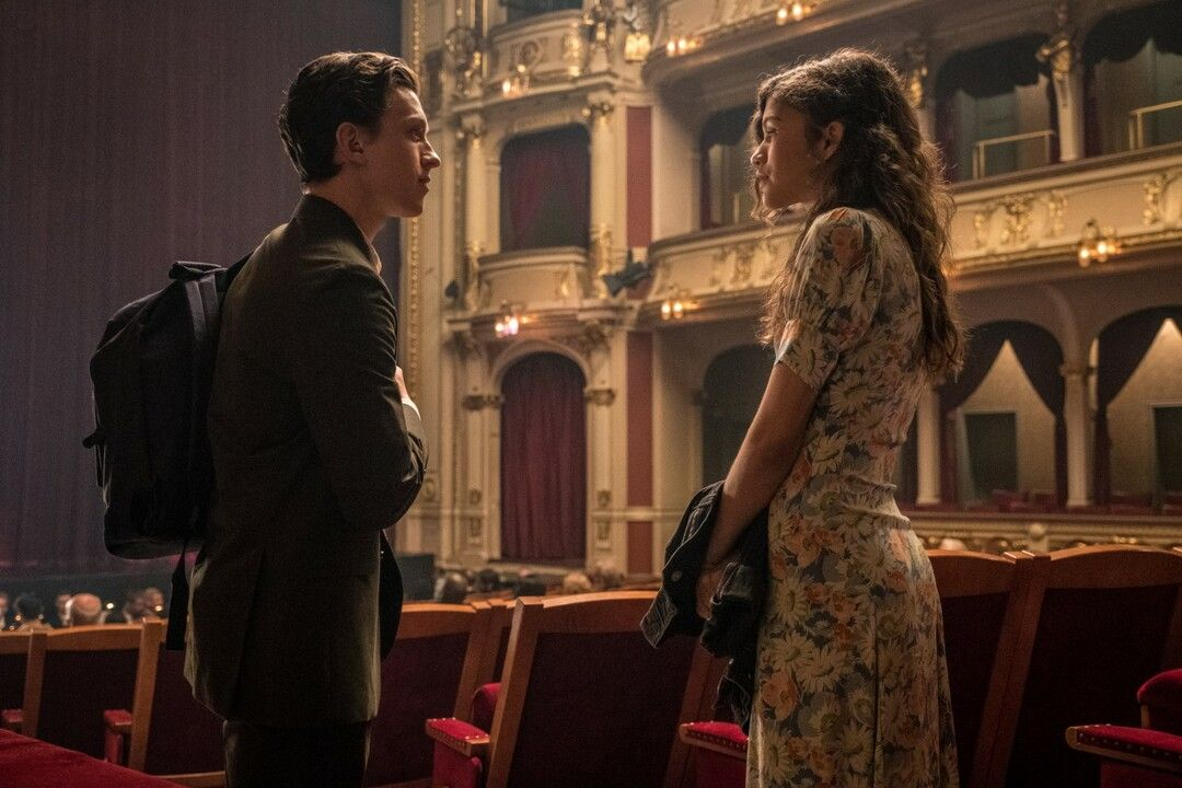 Tom Holland y Zendaya