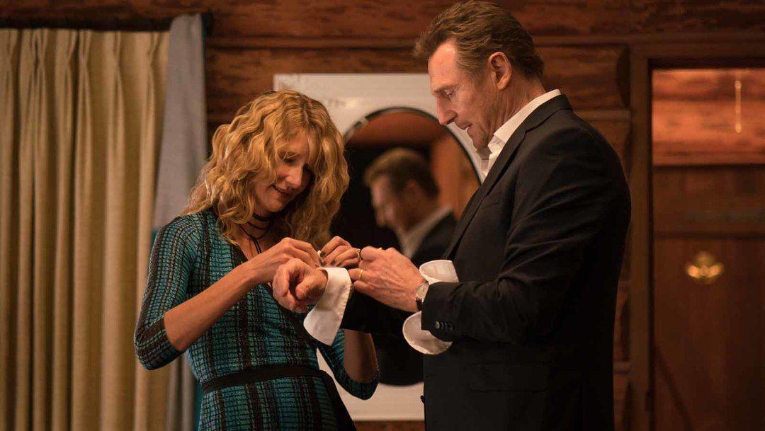 Laura Dern y Liam Neeson