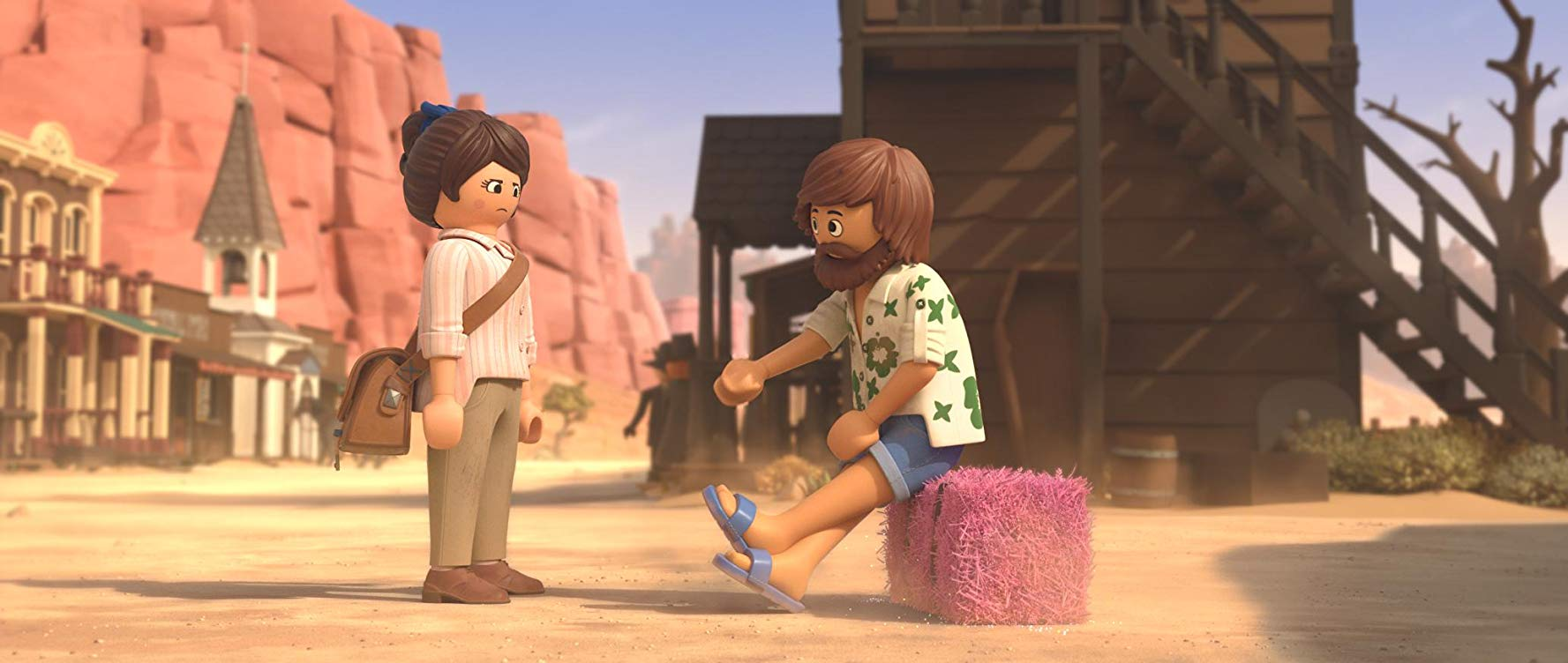 Anya Taylor-Joy y Jim Gaffigan en Playmobil la pelicula