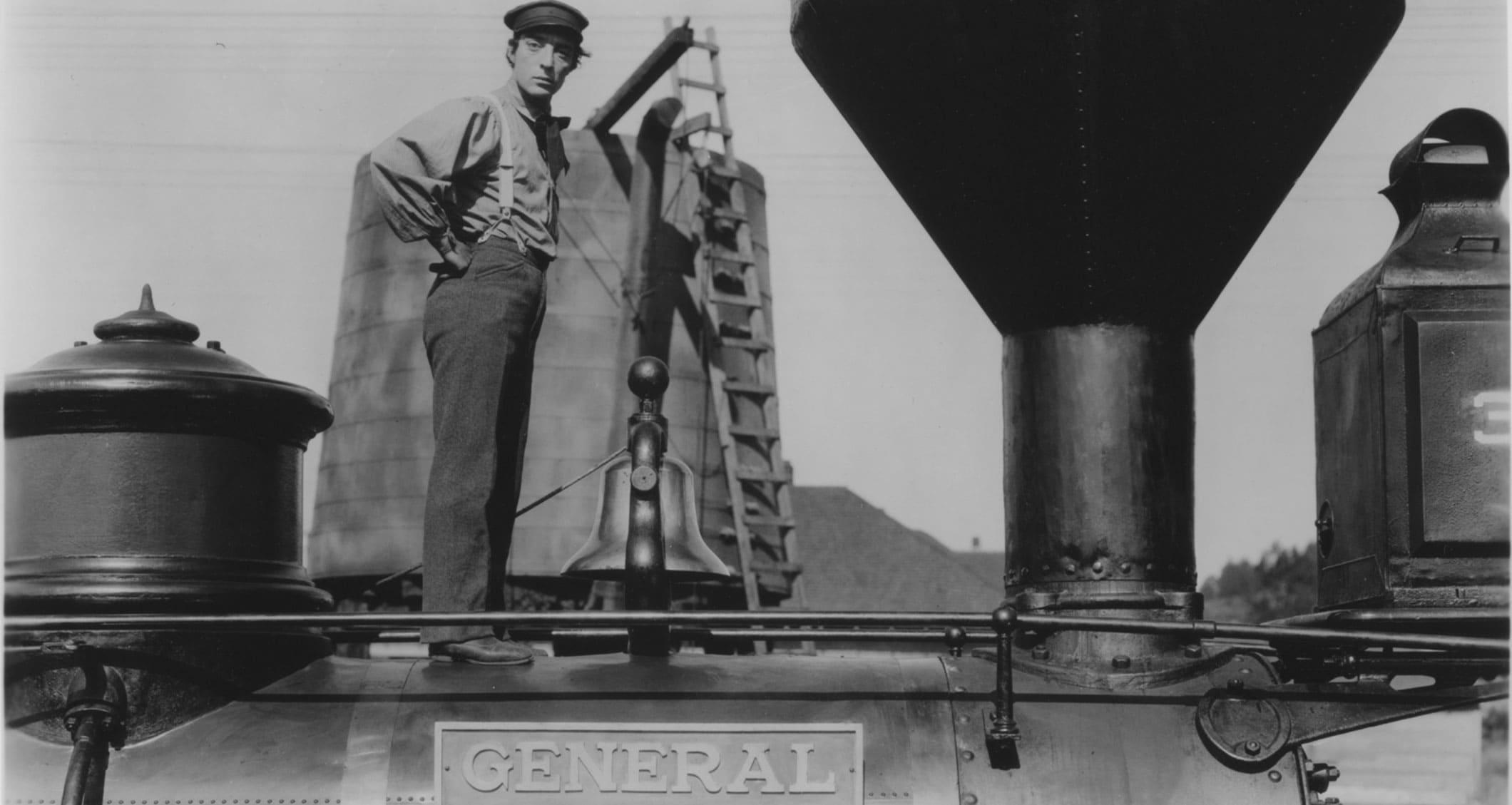 Buster Keaton en El maquinista de la general (El Gran Buster Critica)