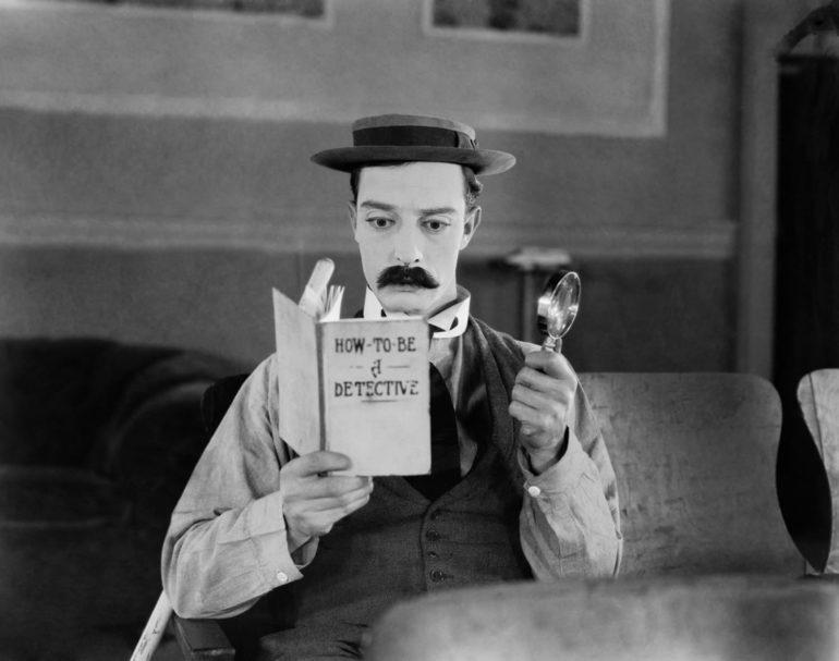 Buster Keaton en El moderno Sherlock Holmes (El Gran Buster Critica)