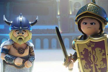 Gabriel Bateman and Anya Taylor en Playmobil la pelicula