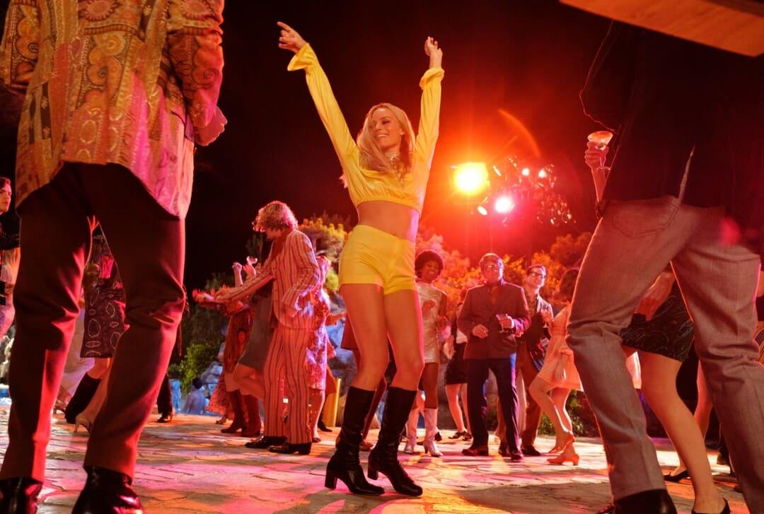 Margot Robbie en una escena de la película