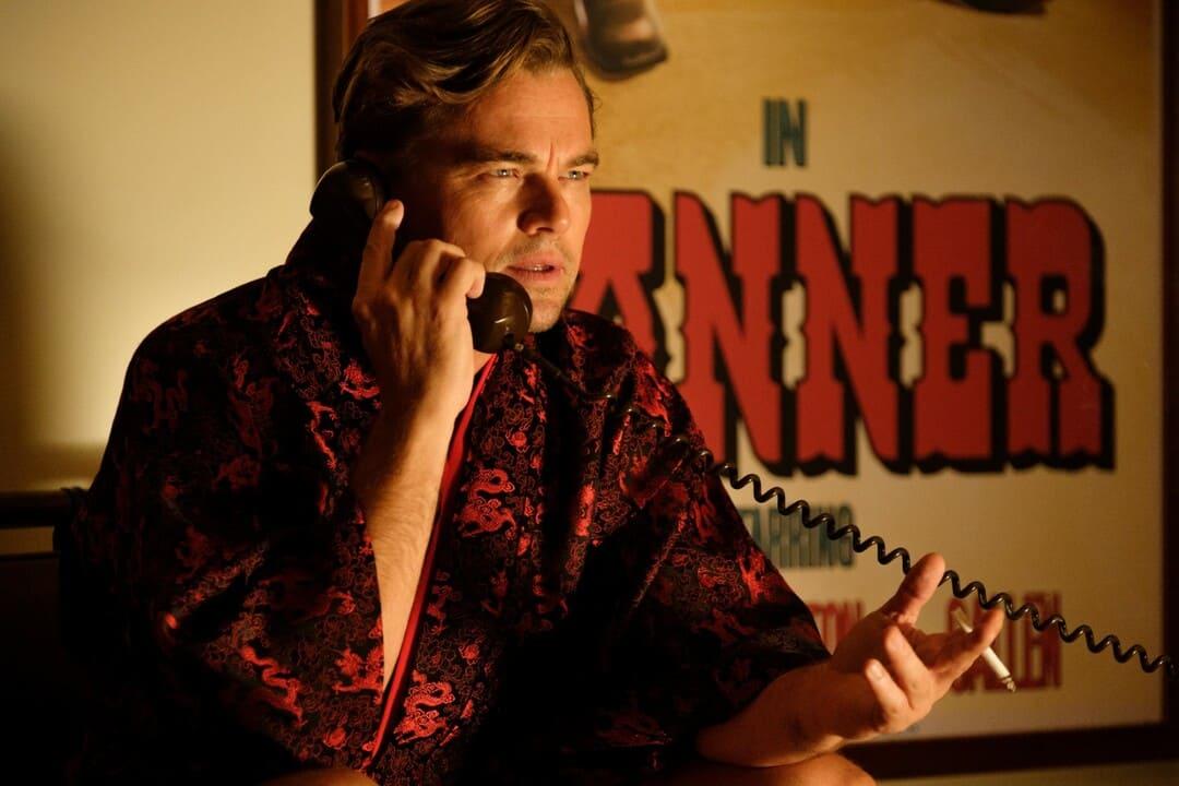 Leonardo DiCaprio en la película