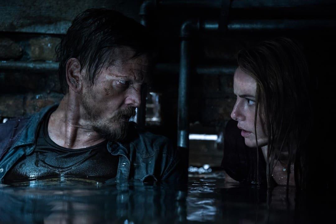 Los protagonistas Barry Pepper y Kaya Scodelario en la película.
