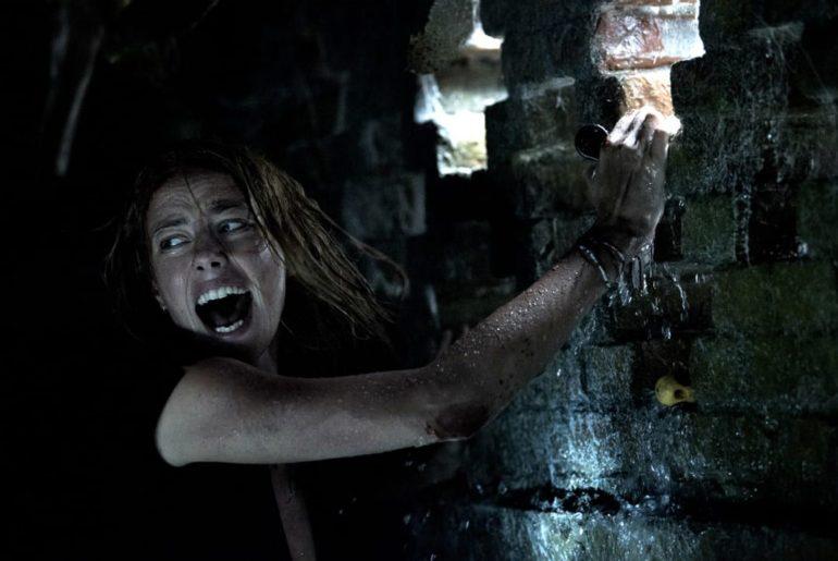 Kaya Scodelario en Infierno bajo el agua