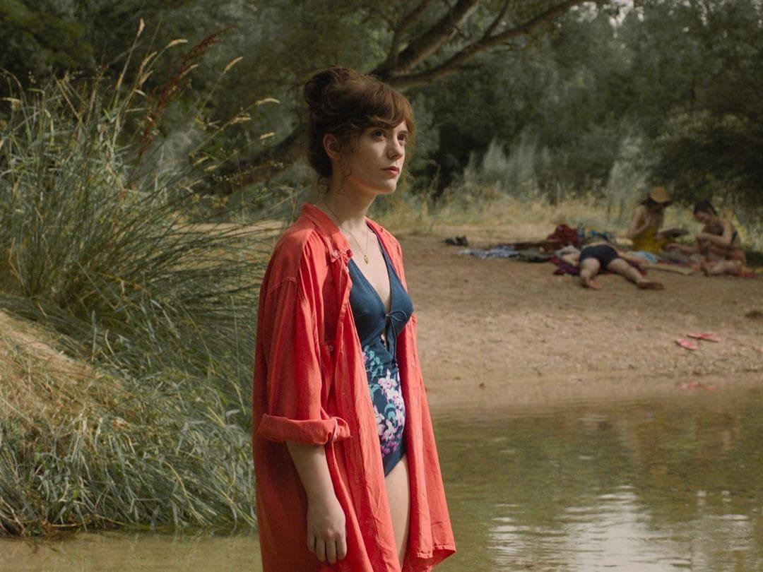 Itsaso Arana en la película La virgen de agosto