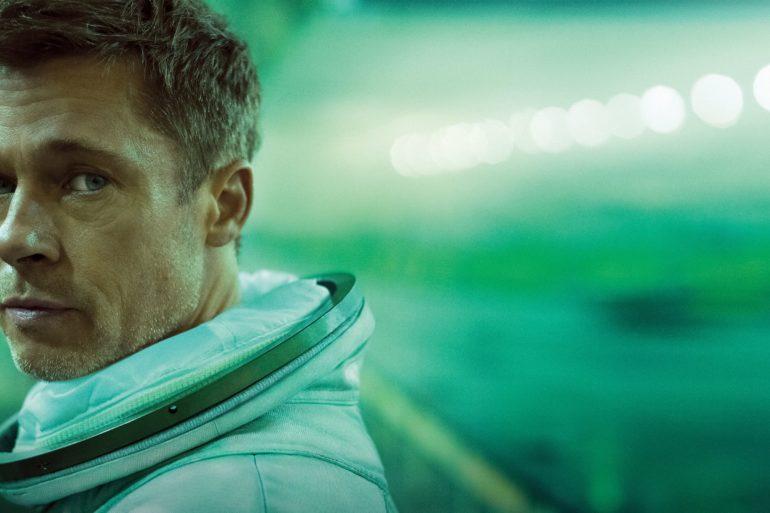 Brad Pitt actor principal de Ad Astra, una epopeya espacial escrita y dirigida por James Gray. En busca de su padre, Tommy Lee Jones.