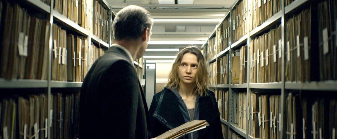 Frida-Lovisa Hamann en la película Cuatro manos (2019)