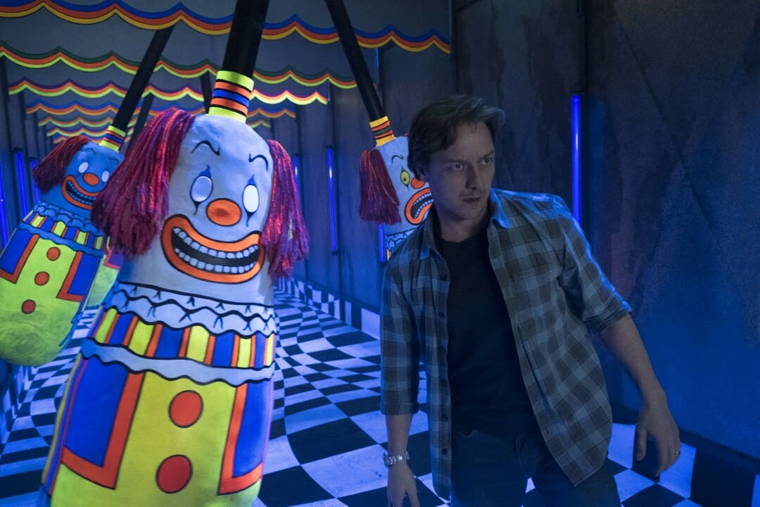 James McAvoy en la película It 2