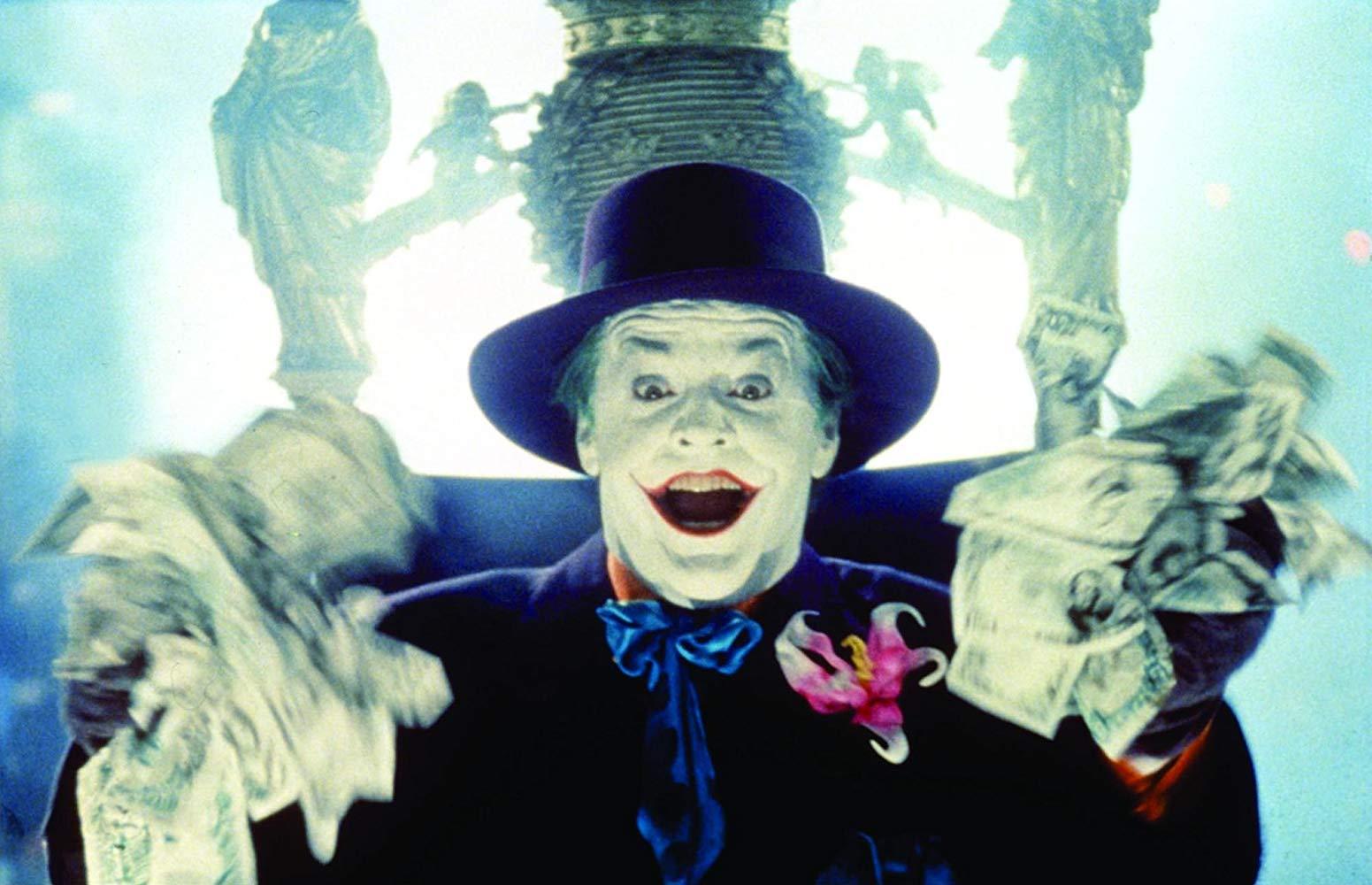 Jack Nicholson en Batman 1989