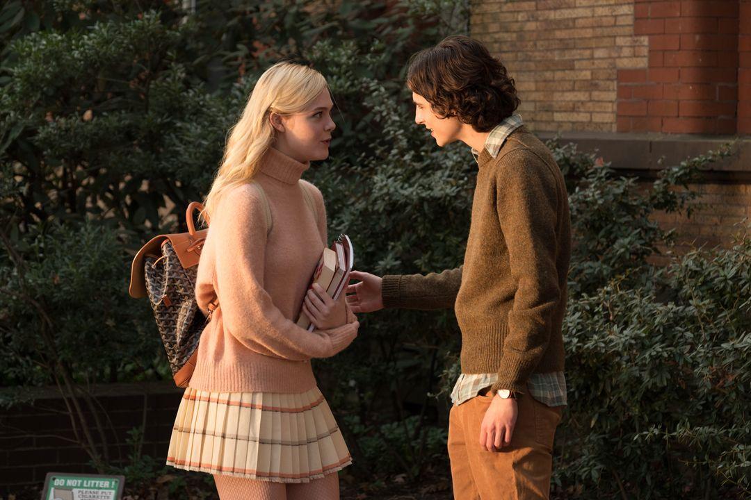 Elle Fanning y Timothée Chalamet en la nueva de Woody Allen