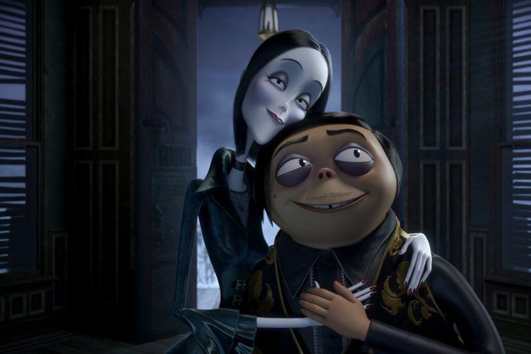 Los Addams en su versión animación