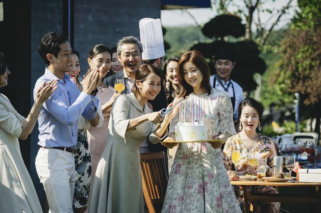 Cho Yeo-jeong, Park So-Dam y Sun-kyun Lee en la película