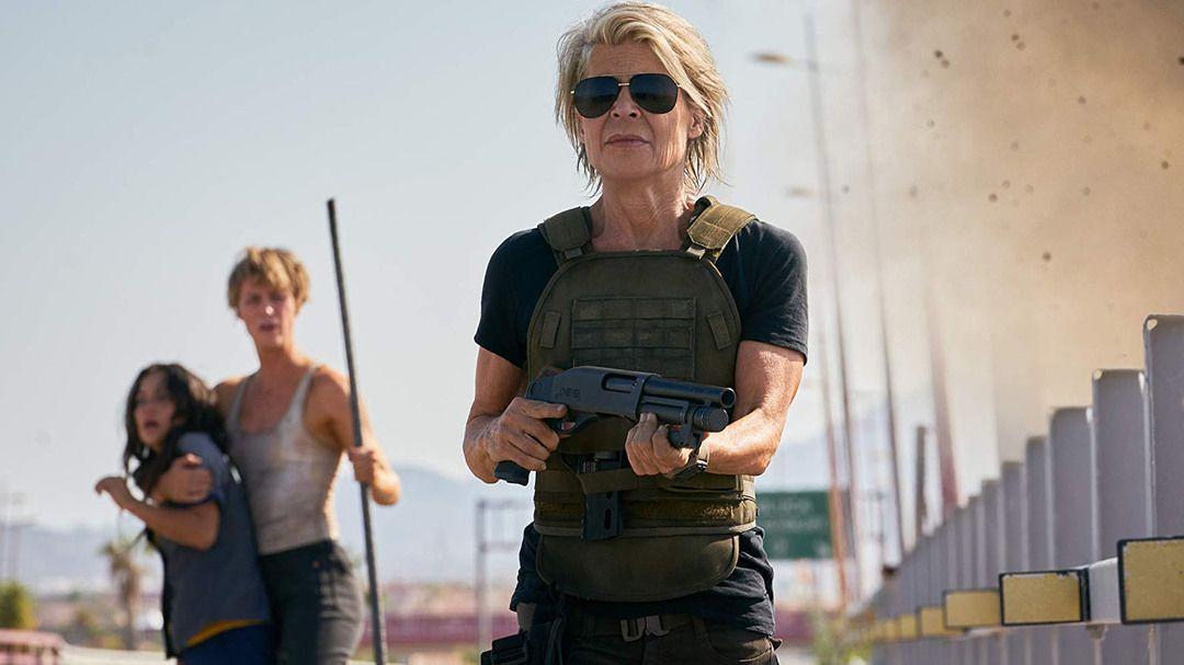 Linda Hamilton en Terminator Destino Oscuro