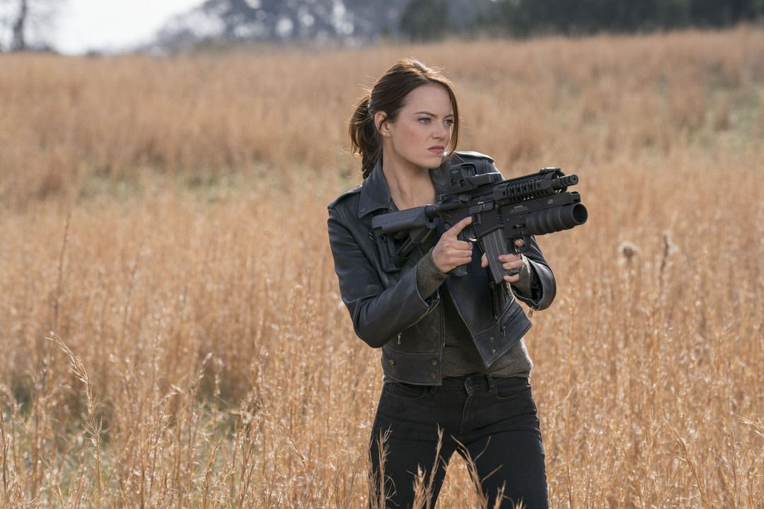 Emma Stone en Zombieland 2