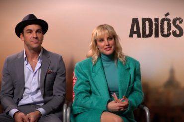 Película Adiós: Entrevista a Mario Casas y Natalia de Molina