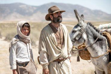 Jaime López y Luis Tosar en la película