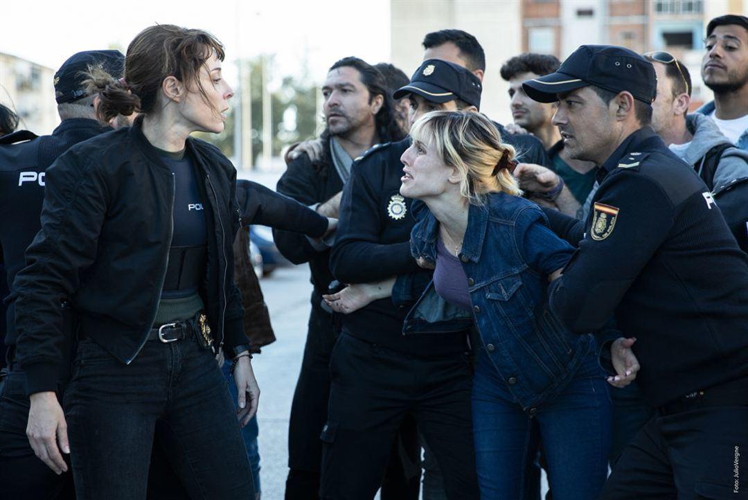 Ruth Díaz y Natalia de Molina en la película