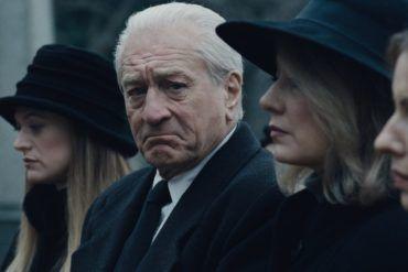 Robert De Niro en la película El Irlandés