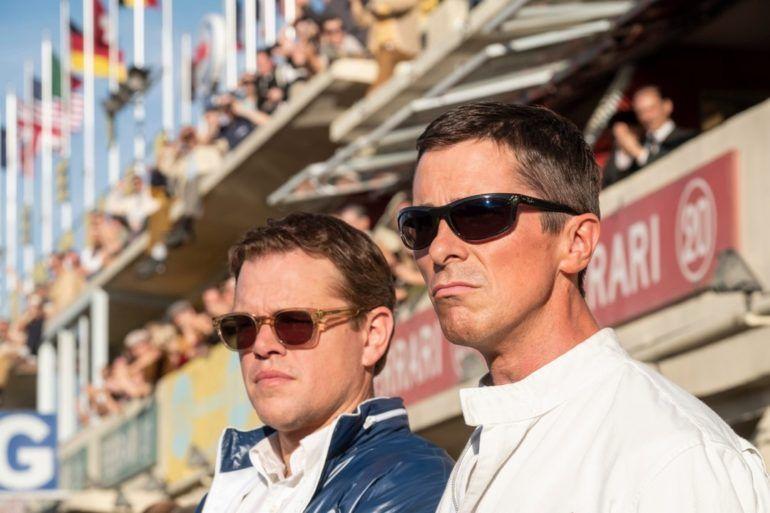 Matt Damon y Christian Bale en la película