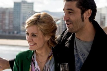 Alexandra Jiménez y Álex García en la película