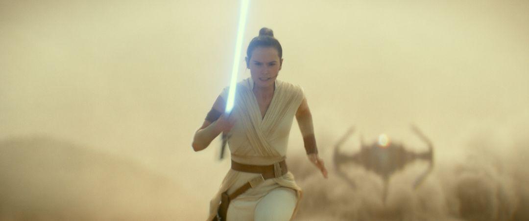 Rey (Daisy Ridley) en Star Wars 9