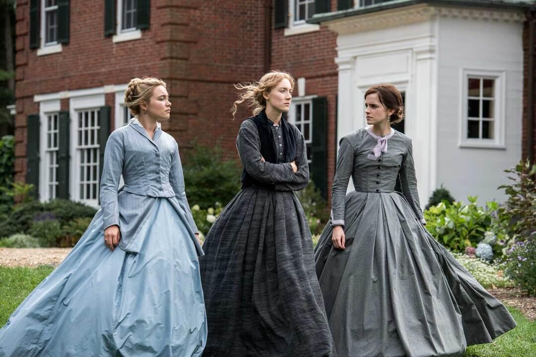 Emma Watson, Florence Pugh y Saoirse Ronan