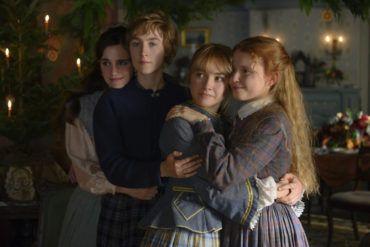 Emma Watson, Saoirse Ronan, Florence Pugh y Eliza Scanlen en Mujercitas 2019