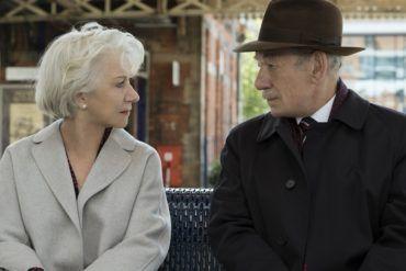 Ian McKellen y Helen Mirren en la película