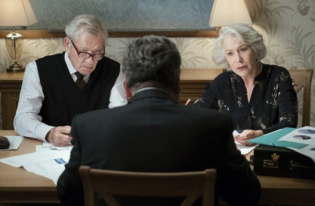 Helen Mirren y Ian McKellen protagonizan la historia