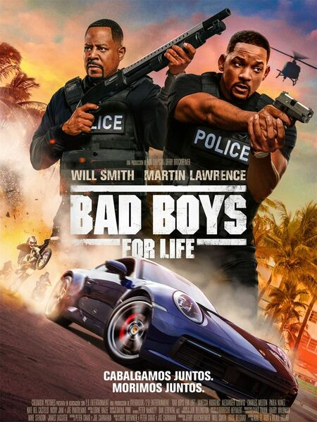 Cartel de la película Bad Boys 3