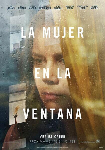 Cartel de la película La mujer en la ventana