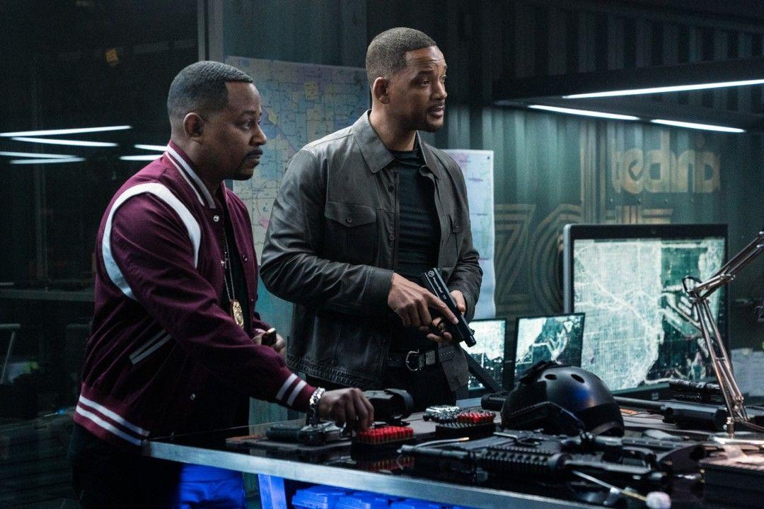 Martin Lawrence y Will Smith en Dos policías rebeldes 3