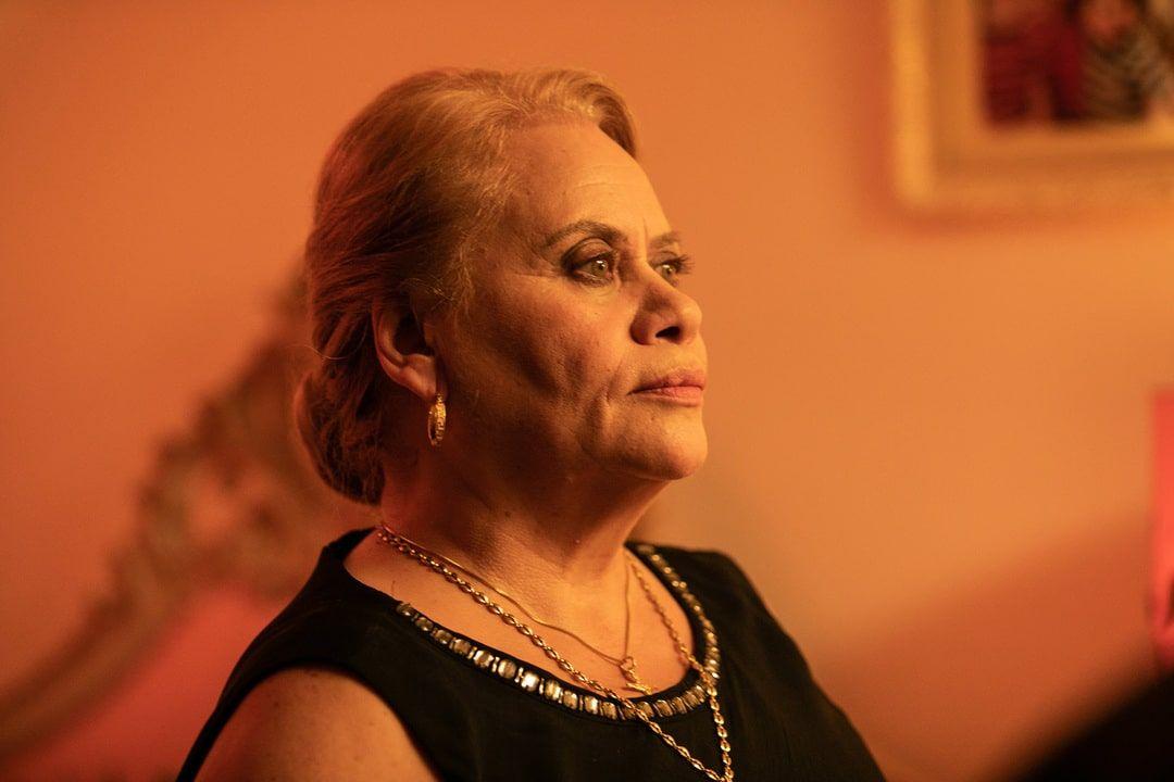 Carmina Barrios en la película