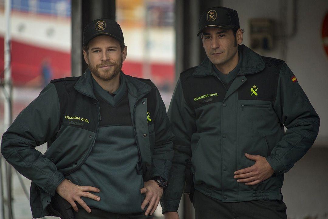 Los policías de la valla de Melilla