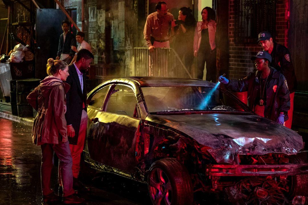 Una escena de la película Manhattan sin salida