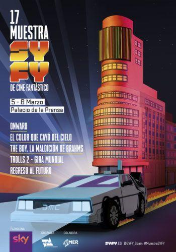 Cartel de la 17 Muestra SYFY de Cine Fantástico