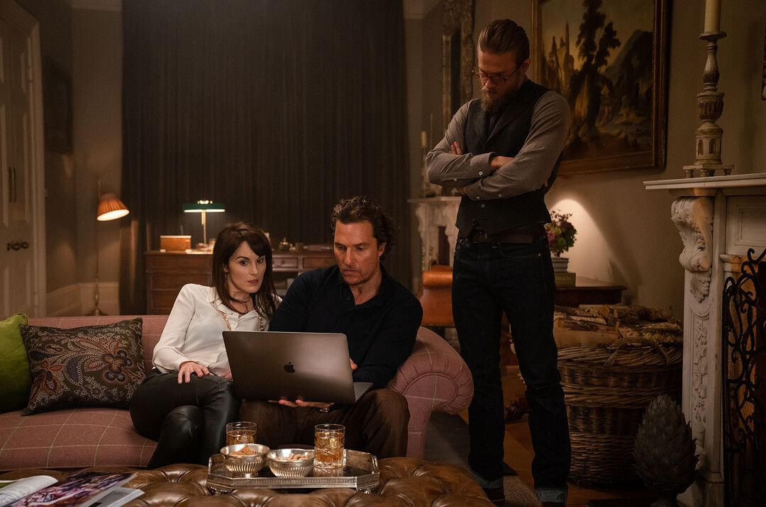 Charlie Hunnam, Matthew McConaughey y Michelle Dockery