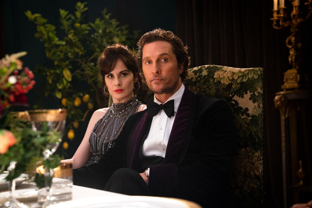 Matthew McConaughey y Michelle Dockery