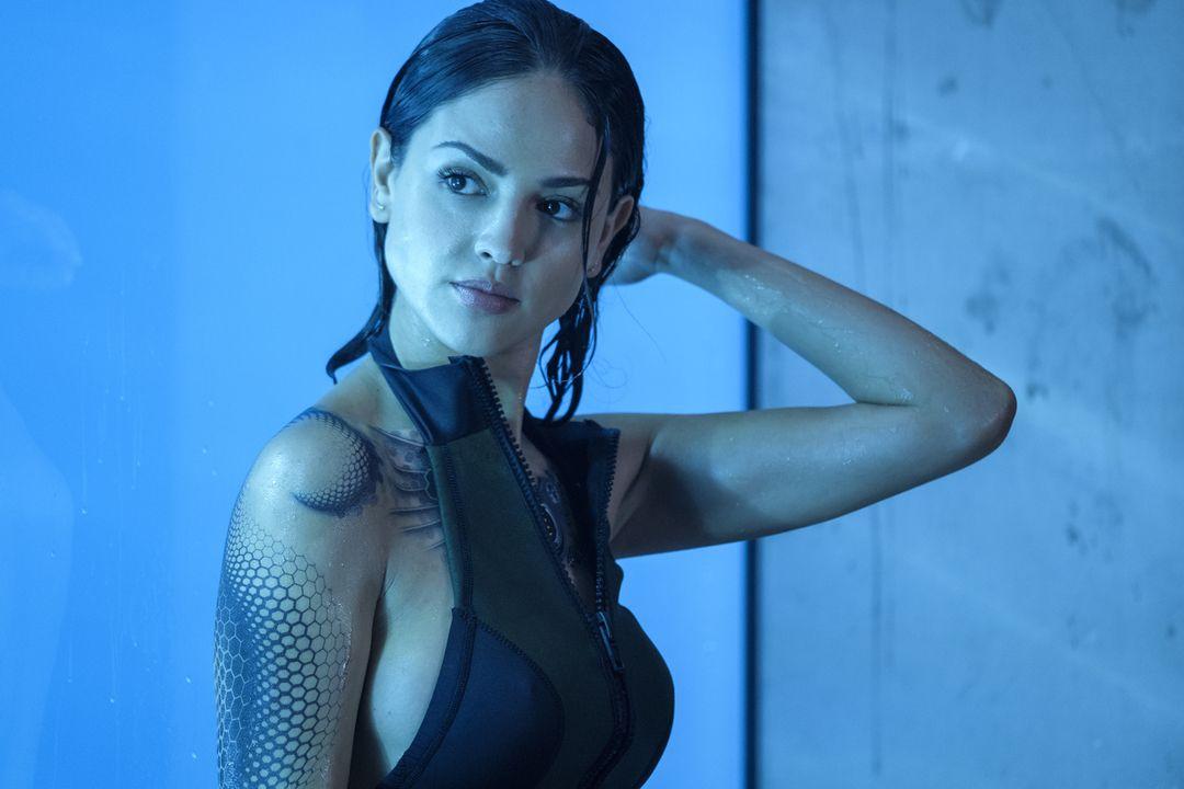 Eiza Gonzalez en la película Bloodshot