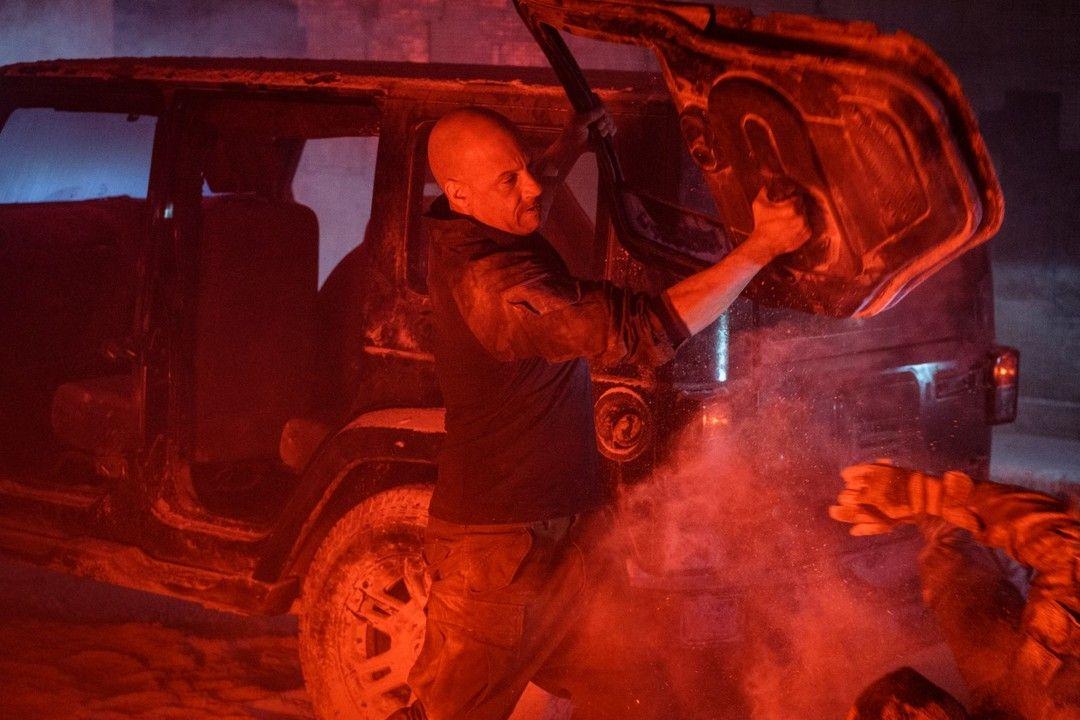 Vin Diesel en la película de Bloodshot