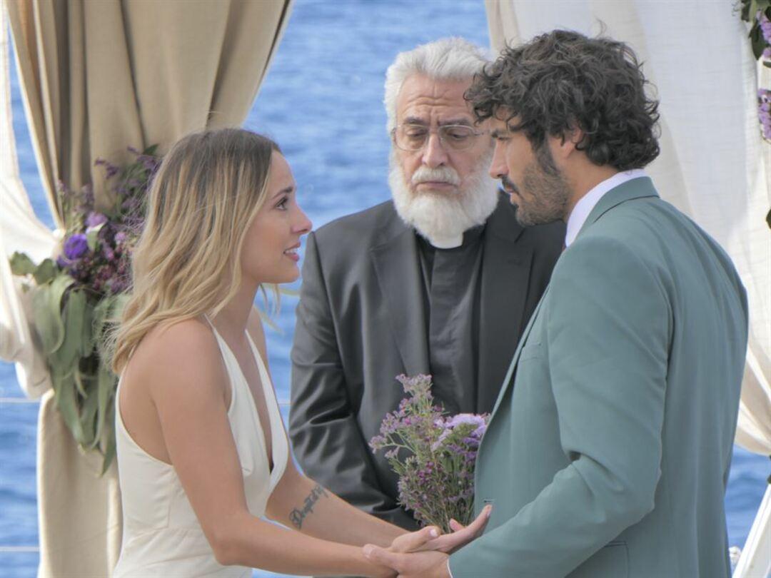 Álex García y Silvia Alonso