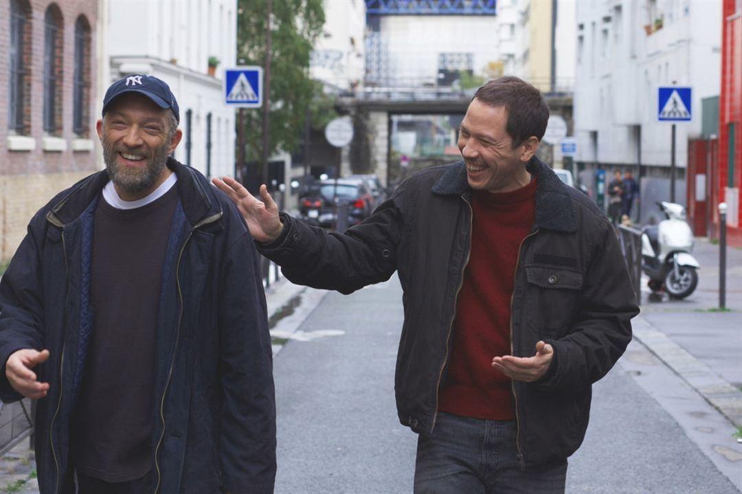 Vincent Cassel y Reda Kateb en la película