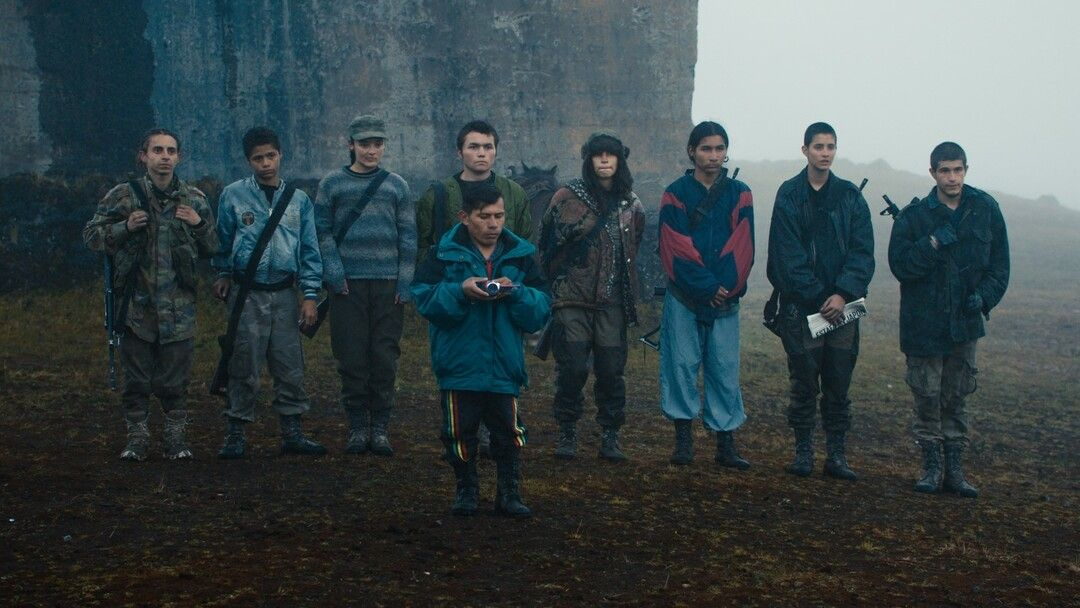 Ellos son Monos, la guerrilla de chavales de la película