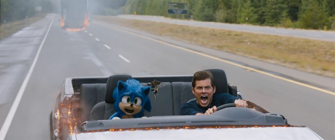 Una de las locas escenas de la película