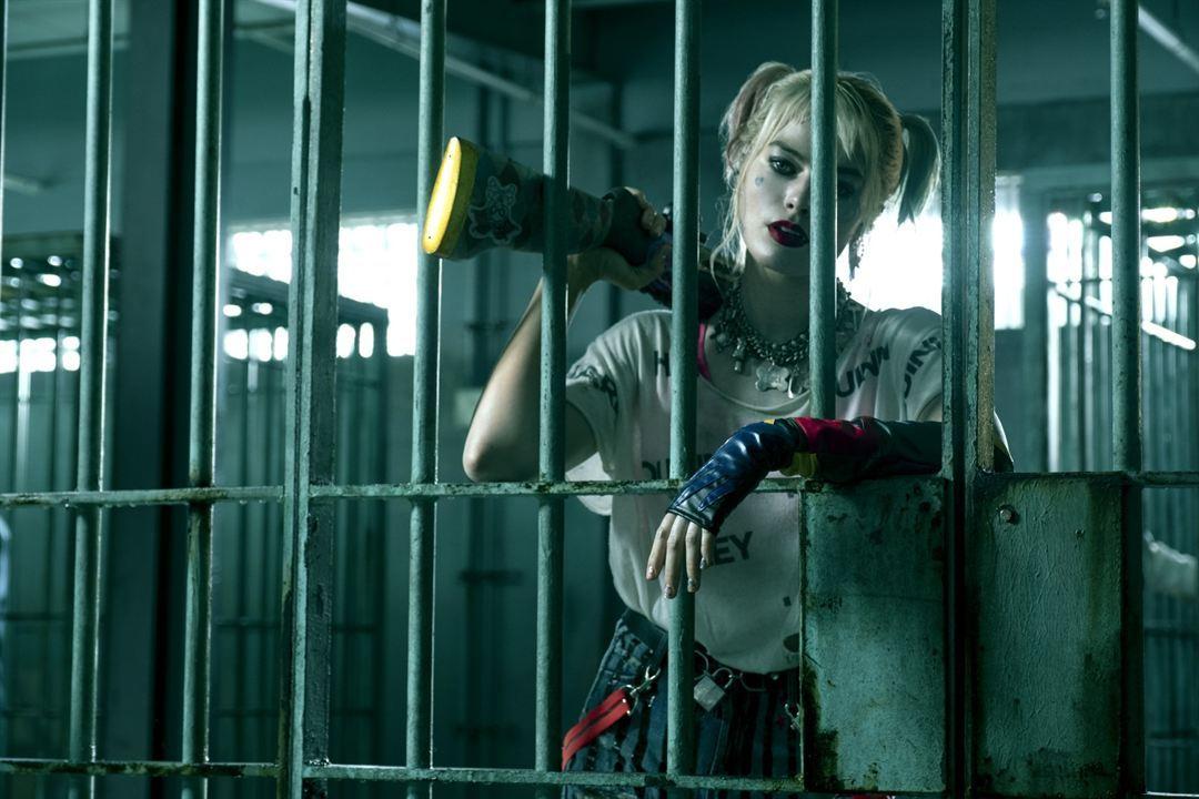 Margot Robbie en la película Aves de presa